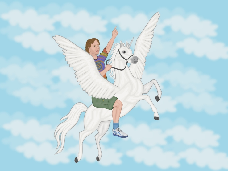 dr_sheldon_solomon_on_unicorn